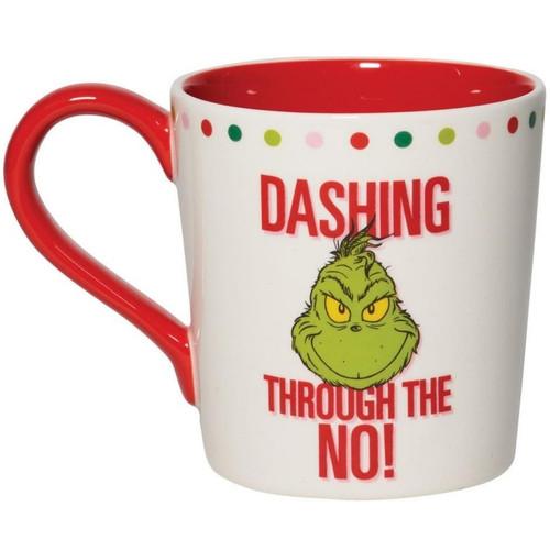 Grinch Dashing Through the No Mug