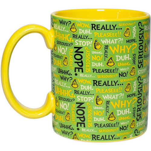 Grinch Phrases Mug