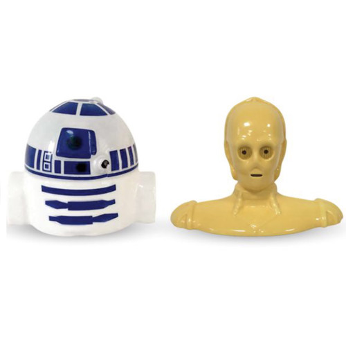 Star Wars R2D2 and C3PO Salt and Pepper Shakers