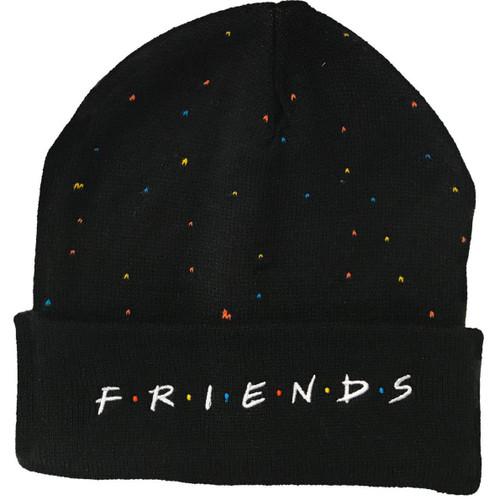 Friends Black Speck Toque