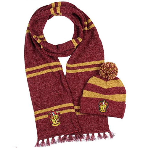 Harry Potter Gryffindor Toque and Scarf Combo Pack