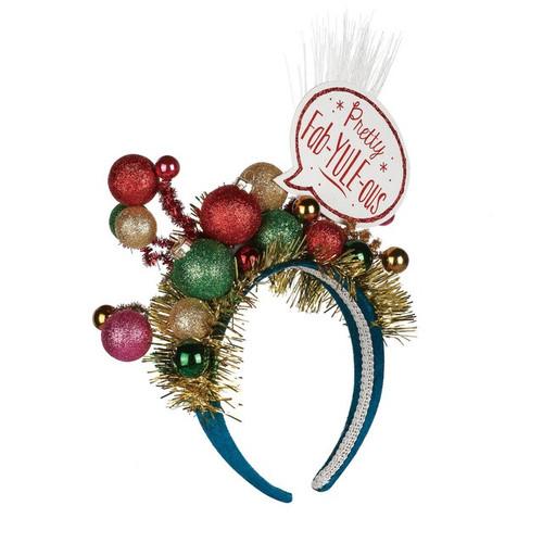 Pretty Fab-Yule-ous Christmas Headband