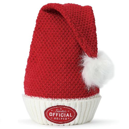 Santa's Helper Knit Stocking Hat