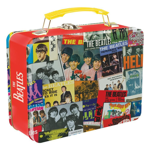The Beatles Singles Collection Tin Tote Lunch Box