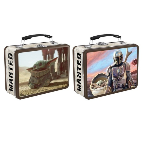 Star Wars The Mandalorian Tin Tote Lunch Box
