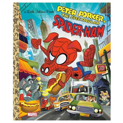 Marvel - Peter Parker, The Spectacular Spider-Ham Little Golden Book