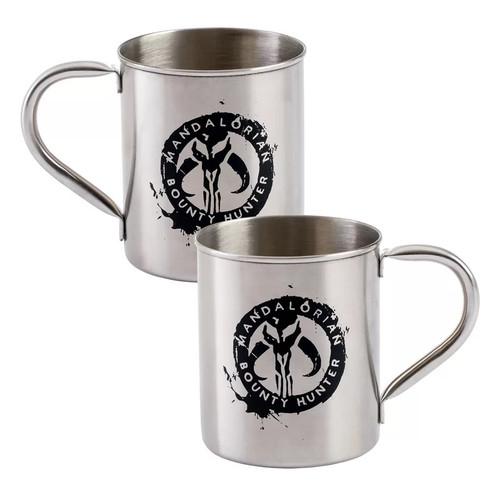 Star Wars The Mandalorian Bounty Hunter Metal Mug