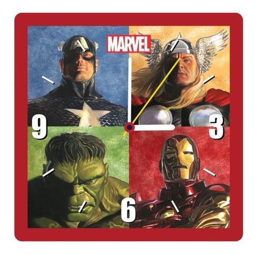 Marvel Retro Square Clock