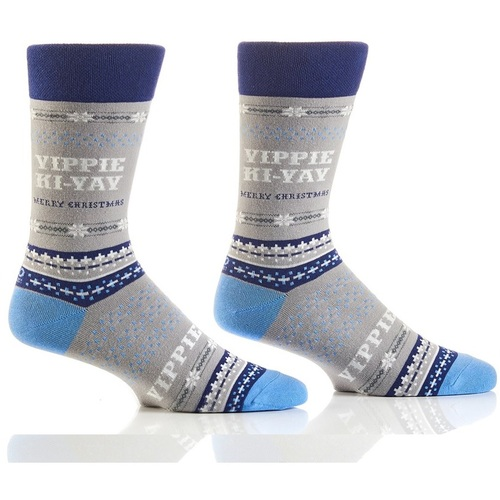 Yippie Kie-Yay Christmas Crew Socks from Die Hard