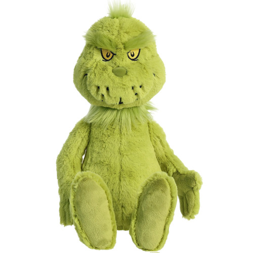 "20"" Grinch Plush Toy By Aurora"