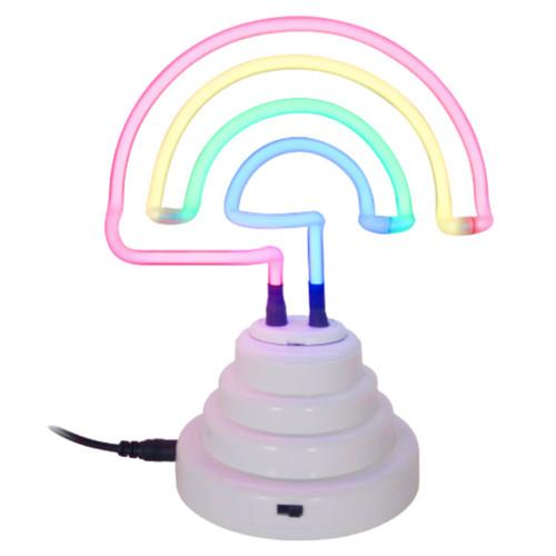 """7.5"""" Neon Rainbow Light"""
