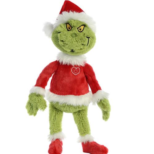 """16"""" Santa Grinch Plush Toy by Aurora"""