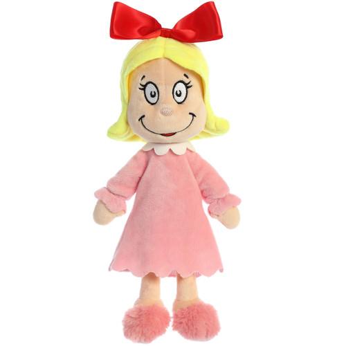 """12"""" Cindy Lou Who Plush Toy By Aurora"""