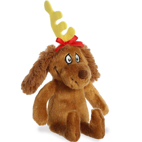 """7"""" Max The Dog From The Grinch Plush Toy by Aurora"""