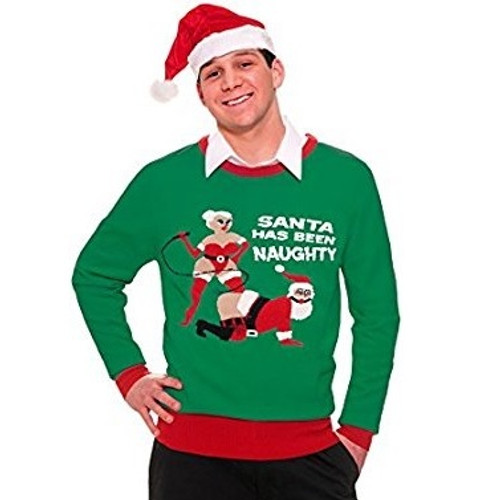 Santa Has Been Naughty Ugly Sweater