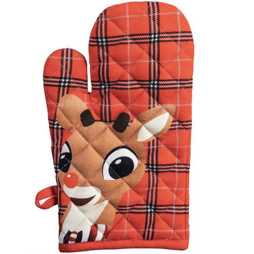 Rudolph The Red-Nosed Reindeer Oven Mitt