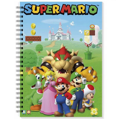 Super Mario Characters Notebook