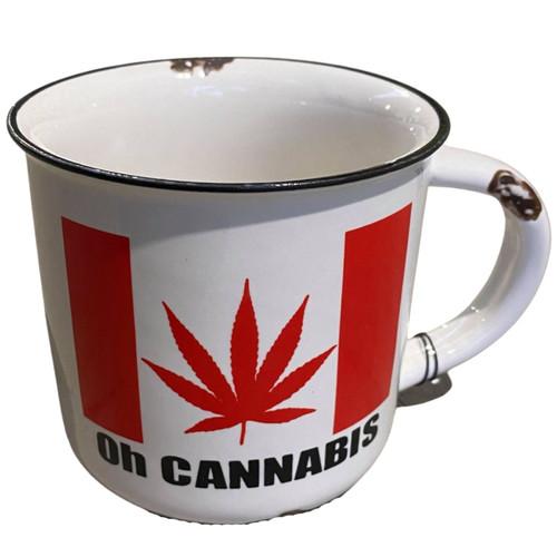 Oh Cannabis Ceramic Mug