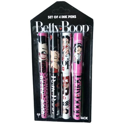 Betty Boop Pen Set of 4