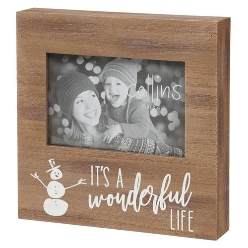It's A Wonderful Life Photo Frame