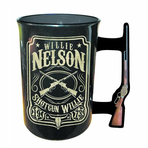 Shotgun Willie Willie Nelson Ceramic Mug