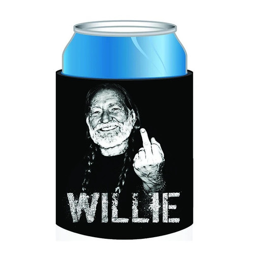 Willie Nelson Middle Finger Can Coolie