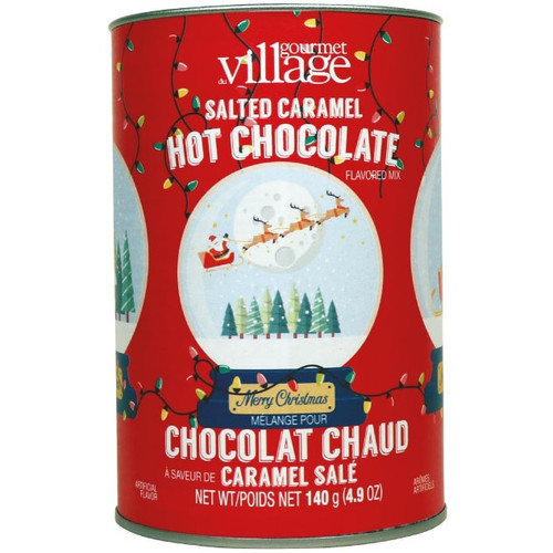 Snowglobe Salted Caramel Hot Chocolate Canister