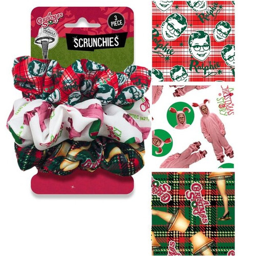 A Christmas Story Scrunchies