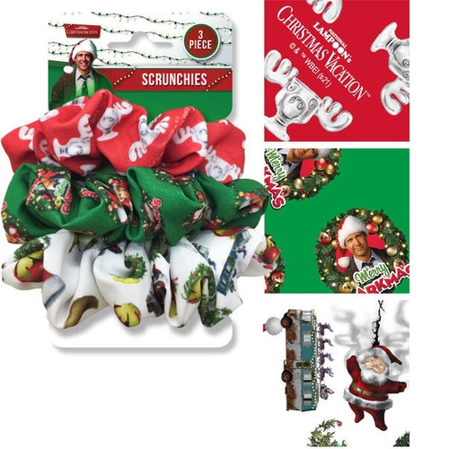 Christmas Vacation 3-Pack Scrunchie Set