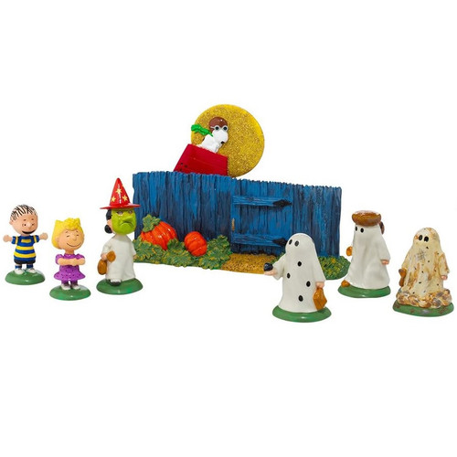 The Great Pumpkin is Coming Department 56 Peanuts Halloween Village