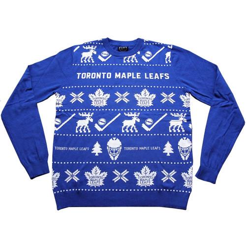 Toronto Maple Leaf 2021 NHL Ugly Christmas Sweater
