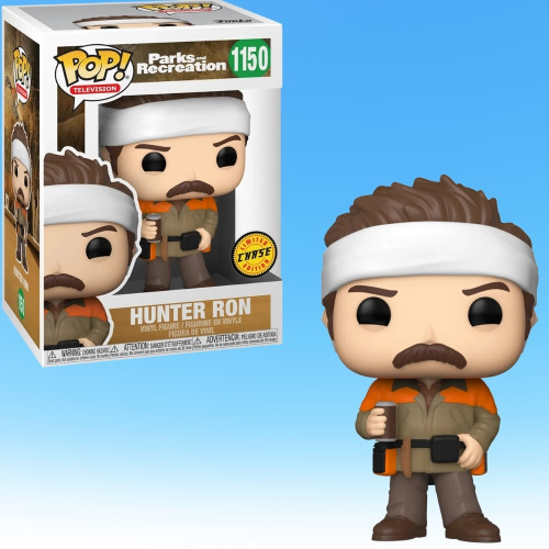 Pop! TV: Parks and Rec Hunter Ron Funko Vinyl Figure (CHASE) 56168