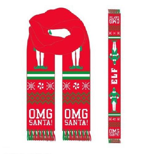 Elf- Holiday Winter Scarf