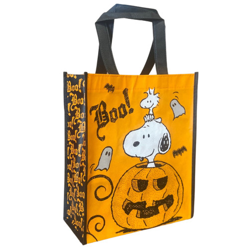 Peanuts Trick or Trick Halloween Resuable Tote Bag