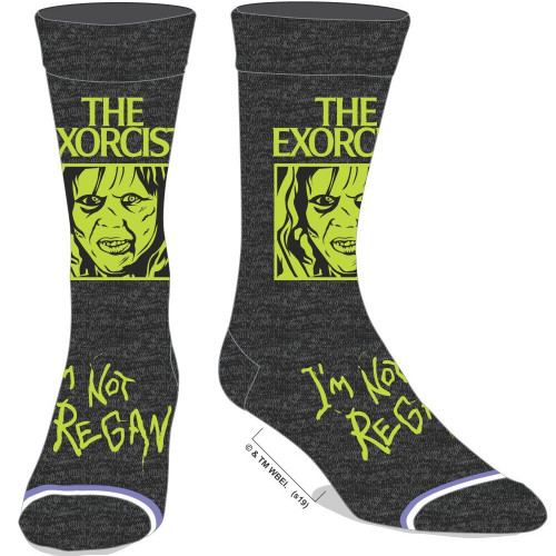 The Exorcist Crew Socks by Bioworld