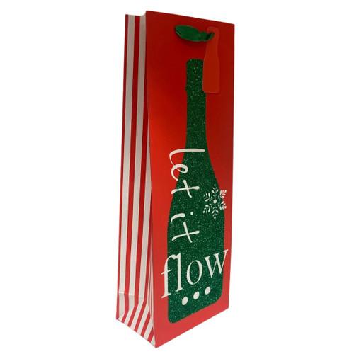 Let It Flow Wine Bottle Bag