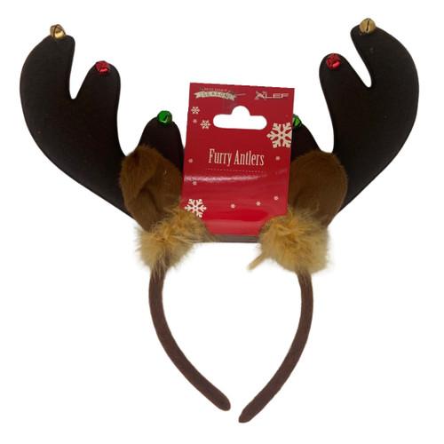 Furry Antlers Headband