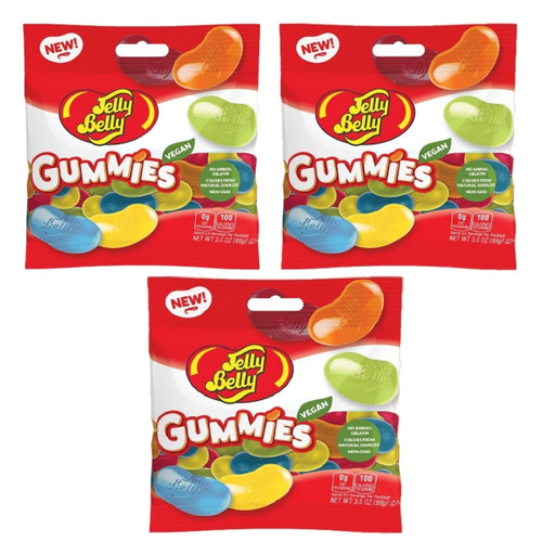 Jelly Belly Gummies - Set of 3 Bags