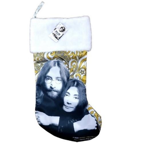 John & Yoko Stocking