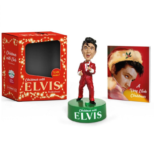 Christmas with Elvis Bobblehead Mini Kit with Music