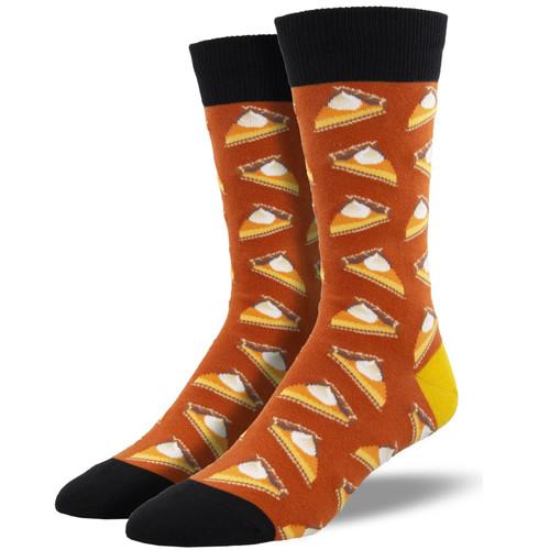 Pumpkin Pie Socks by Socksmith