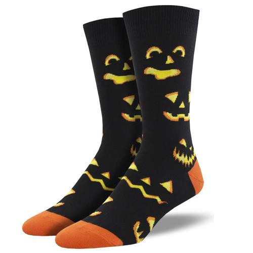 Pumpkin Carving Socks by Socksmith
