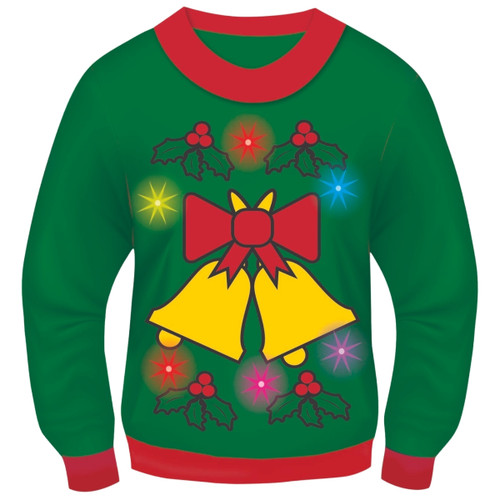 Christmas Light Up and Sound Sweater