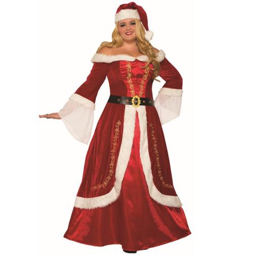 Premium Classic Mrs. Claus Outfit