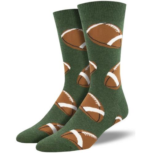 Pigskin Men's Crew Socks by Socksmith Canada