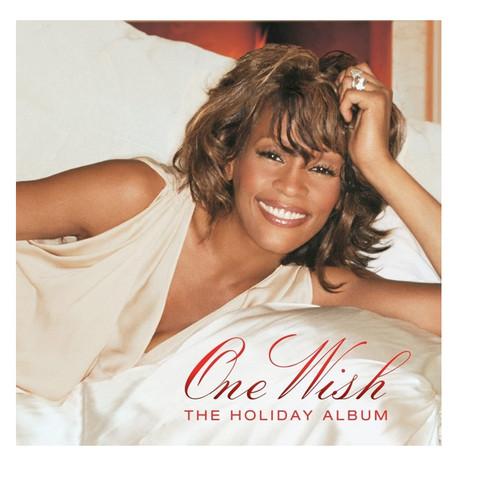 Whitney Houston One Wish The Holiday Album LP Vinyl Record