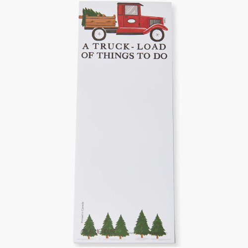 Truck Load of Things To Do  Magnetic List