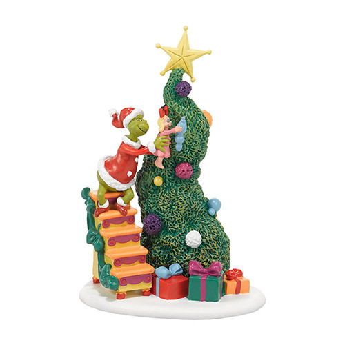 Department 56 The Grinch It Takes Two Grinch and Cindy Lou Village Figurine