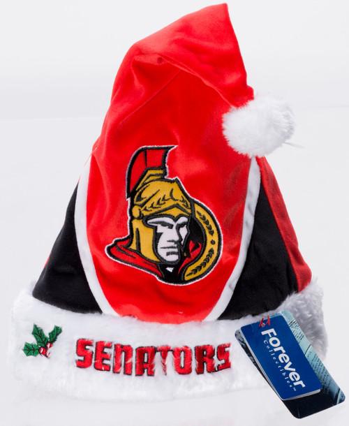 Ottawa Senators Plush Santa Hat