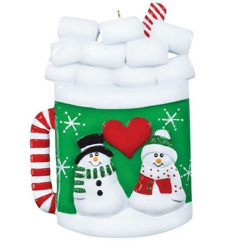Christmas Mug Personalized Ornament